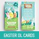 Easter DL Rack Card - GraphicRiver Item for Sale