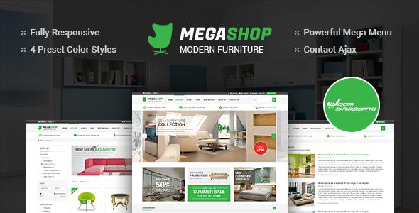 MegaShop - Multipurpose Responsive Joomla Template - Retail Joomla
