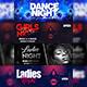 Ladies Night Club Facebook Cover Bundle - GraphicRiver Item for Sale