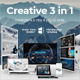 Creative 3 in 1 Bundle Powerpoint Template - GraphicRiver Item for Sale