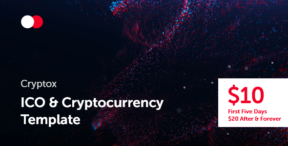 Cryptox — ICO & Cryptocurrency Template