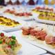 The classic Spanish tapas ham and melon. - PhotoDune Item for Sale
