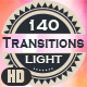 140 Real Light Transitions - HD - VideoHive Item for Sale