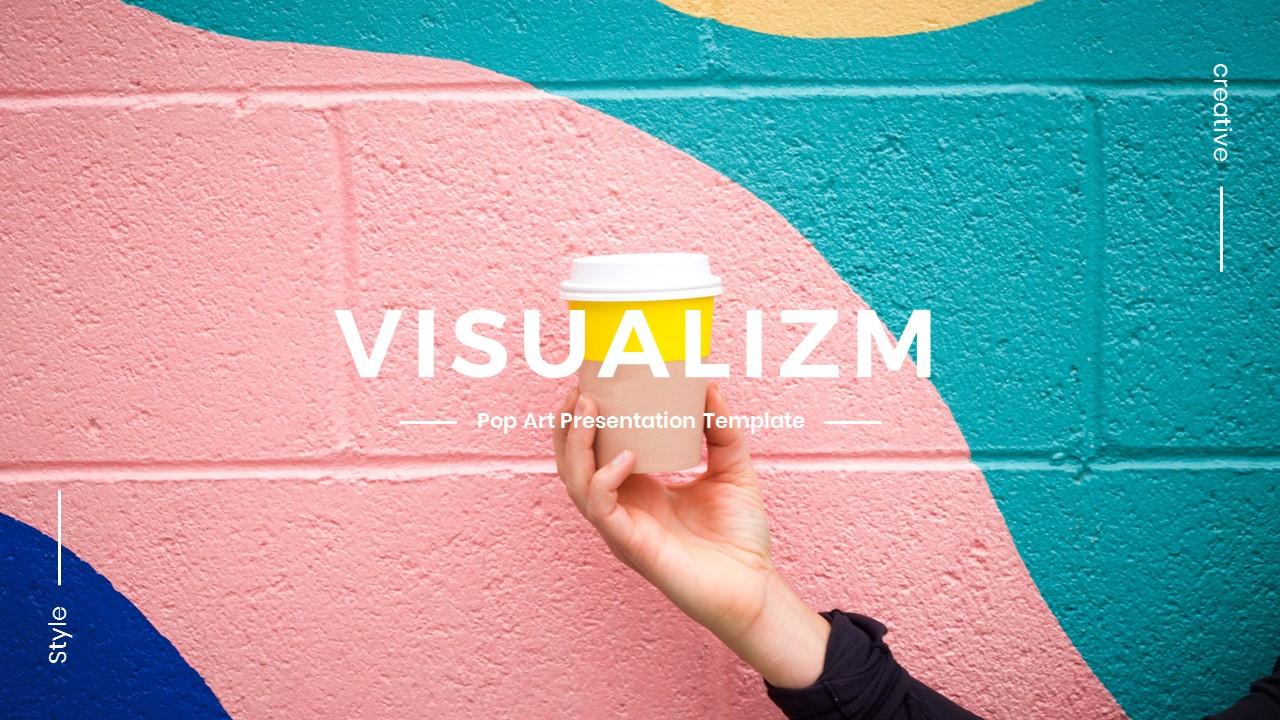 Visualizm - Pop Art & Graffiti Keynote Template