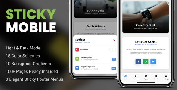 Sticky Mobile