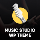 Rehearsal - Music Studio WordPress Theme - ThemeForest Item for Sale