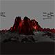 lava mountain - 3DOcean Item for Sale