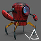 Low Poly / Rig Ready Industrial Robot - 3DOcean Item for Sale