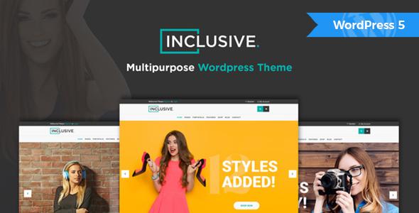 Inclusive - Fashion Shop WordPress Theme
