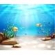 Vector Underwater Life Sea Bottom Scene Background - GraphicRiver Item for Sale