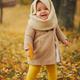 cute happy girl in autumn park - PhotoDune Item for Sale