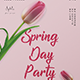 Spring Party Flyer - GraphicRiver Item for Sale