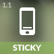 Sticky Mobile | Mobile Template - ThemeForest Item for Sale