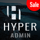 Hyper - Responsive Admin Dashboard Template - ThemeForest Item for Sale