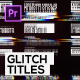 Glitch Titles and Lower Thirds for Premiere Pro - VideoHive Item for Sale