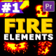 2D FX Fire Elements - VideoHive Item for Sale