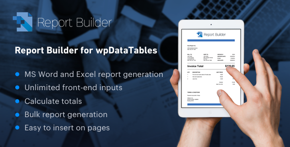 Find a wpdatatables Wordpress Plugin on Scan WP