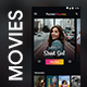Online Movie & Video Streaming App   Pocket Movies - GraphicRiver Item for Sale