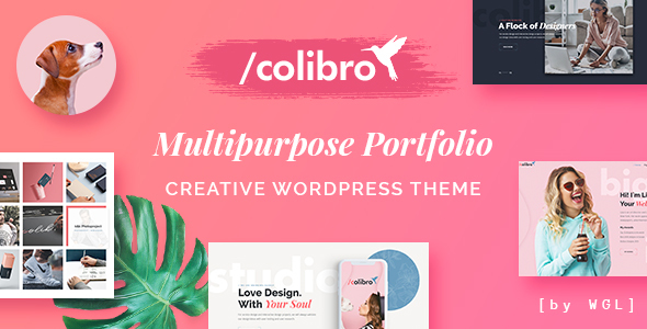 Colibro - Multipurpose Portfolio WordPress Theme