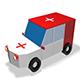 Low Poly Ambulance 3d Model - 3DOcean Item for Sale