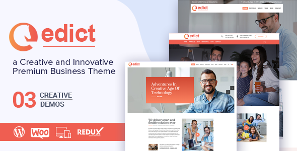 EDICT - Eight Degree Innovative Corporate Theme