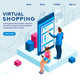 Virtual Shopping Interface - GraphicRiver Item for Sale