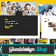 School Yearbook Google Slides Presentation - GraphicRiver Item for Sale