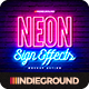 Neon Sign Effects - GraphicRiver Item for Sale