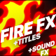 Fire Elements And Titles - VideoHive Item for Sale