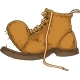 Old Brown Boot - GraphicRiver Item for Sale