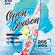 Open Season Party Flyer - GraphicRiver Item for Sale