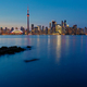 Night view of downtown Toronto, Ontario, Canada - PhotoDune Item for Sale