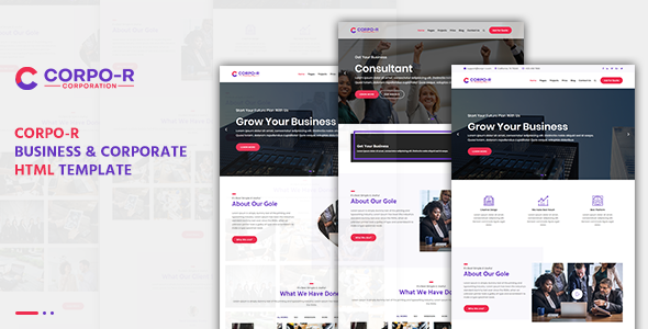Corpo-R Business & Corporate HTML Template