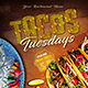 Taco Tuesdays Flyer Template - GraphicRiver Item for Sale