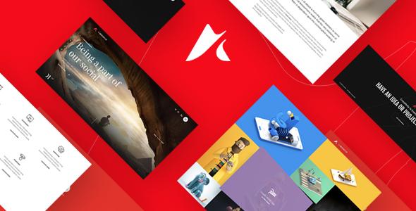 Anchor | Freelancer & Creative Agency Portfolio Joomla Template