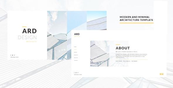 ARD - Architect | Builder Minimal Joomla Template - Business Corporate