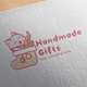 Handmade Gift Logo Design - GraphicRiver Item for Sale