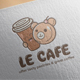 Le Cafe Logo Design - GraphicRiver Item for Sale