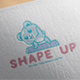 Shape Up Logo Design - GraphicRiver Item for Sale