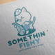 Somethin' Fishy Logo Design - GraphicRiver Item for Sale