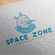 Space Zone Logo Design - GraphicRiver Item for Sale