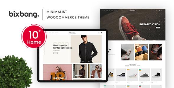 Bixbang - Minimalist eCommerce WordPress Theme for WooCommerce