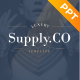 Supply.Co Luxury Marketplace PowerPoint Template - GraphicRiver Item for Sale
