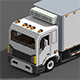 Voxel Refrigerated Truck - 3DOcean Item for Sale
