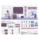 Scientist Working in Laboratory - GraphicRiver Item for Sale