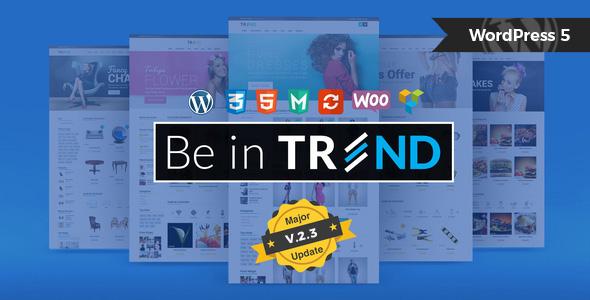 Trend – Multipurpose / Fashion / Restaurant / Construction / Modern Shop WooCommerce WordPress Theme