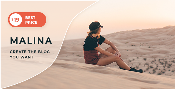 Malina - Personal WordPress Blog Theme - Personal Blog / Magazine
