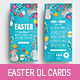 Easter DL Rack Card - GraphicRiver Item for Sale