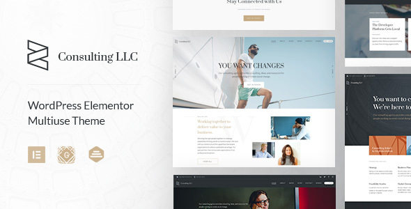 Zayne – Corporate Business Elementor WordPress Theme