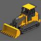 Voxel Crawler Loader - 3DOcean Item for Sale